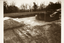 Town Creek (Mg 2), View From Sides of Mound of Structures C, D & Embankment (B&W Print # 507), Montgomery Co., North Carolina, United States (RLA image 22970.jpg)