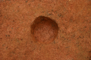 Nassaw-Weyapee (SoC 643), Feature 50 (Cob-Filled Pit), Excavated, York Co., South Carolina, United States (RLA image D10160.jpg)