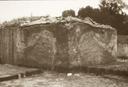 Town Creek (Mg 2), Mound Profiles Showing Fill Disturbances (B&W Print # 191), Montgomery Co., North Carolina, United States (RLA image 22961.jpg)