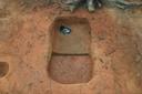 Nassaw-Weyapee (SoC 643), Feature 54, South Half Excavated to Base of Zone 3, York Co., South Carolina, United States (RLA image D10129.jpg)