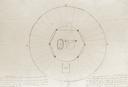 Peachtree Mound (Ce 1), Valentine Field Notes - Mound Plan, Cherokee Co., North Carolina, United States (RLA image 22925.jpg)