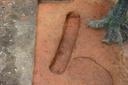Nassaw-Weyapee (SoC 643), Feature 53, Excavated, York Co., South Carolina, United States (RLA image D10146.jpg)