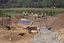 Coweeta Creek Mound (Ma 34), General View of Excavation, Macon Co., North Carolina, United States (RLA image 22834.jpg)