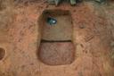 Nassaw-Weyapee (SoC 643), Feature 54, South Half Excavated to Base of Zone 3, York Co., South Carolina, United States (RLA image D10128.jpg)