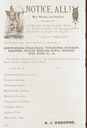 A.J. Osborne's Notice to Buy Artifacts, North Carolina, United States (RLA image 22935.jpg)