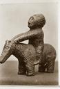 Fake Stone Statue - Indian on Short-Legged Horse, North Carolina, United States (RLA image 22942.jpg)