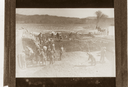 Peachtree Mound (Ce 1), Peachtree Mound Field Crew (From Lantern Slide, Coe Papers), Cherokee Co., North Carolina, United States (RLA image 22922.jpg)