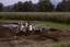 Coweeta Creek Mound (Ma 34), Crew at Work, Macon Co., North Carolina, United States (RLA image 22849.jpg)