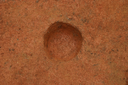 Nassaw-Weyapee (SoC 643), Feature 50 (Cob-Filled Pit), Excavated, York Co., South Carolina, United States (RLA image D10159.jpg)