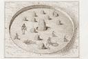 T. F. Nelson Mound (Cw 1), Sketch of T.F. Nelson Mound (Thomas 1894:Fig. 207), Caldwell Co., North Carolina, United States (RLA image 22917.jpg)